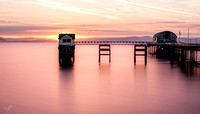 Sunrise at Mumbles pier