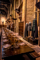 Great Hall, Slytherin robes